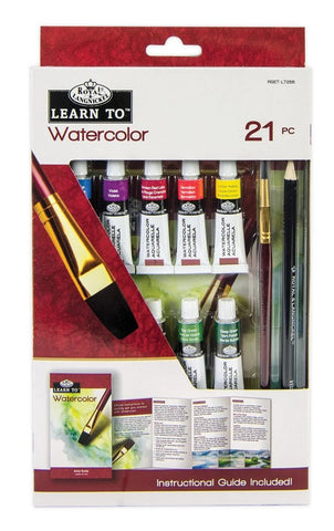 Learn to - Watercolour (tubes)