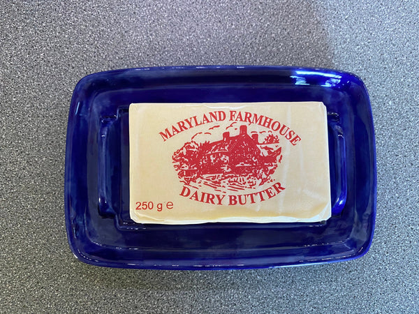 Butter Dish with Lid - PeterBowenArt