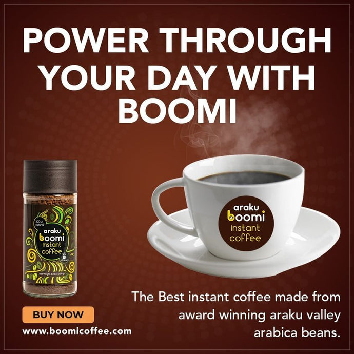 Boomi Instant Coffee: Amazing Araku Coffee Wherever You Are