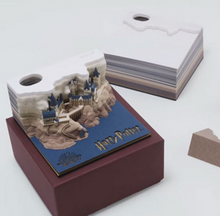 Load image into Gallery viewer, Magical 3D Harry Potter Memo Pad