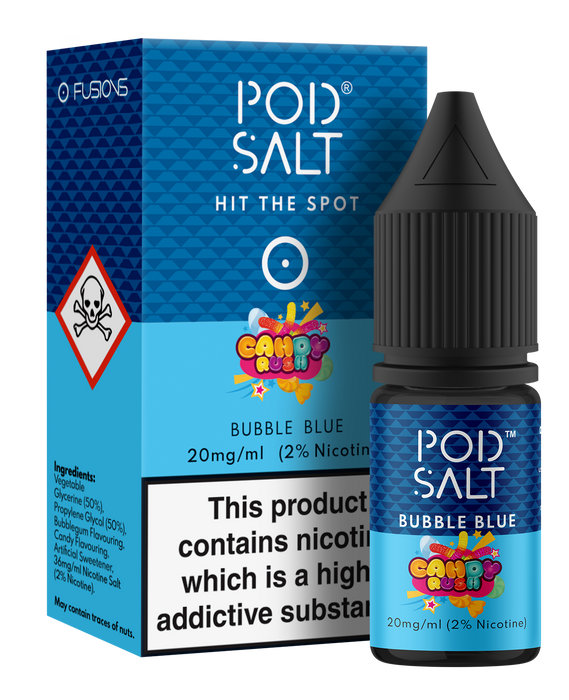 Pod Salt Fusions - Bubble Blue