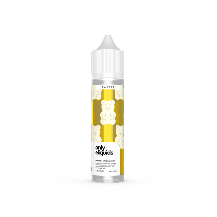 Only E-Liquids Sweets - White Gummy