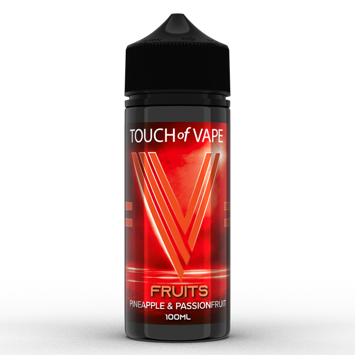 Touch Of Vape 70/30 Fruits - Pineapple & Passionfruit