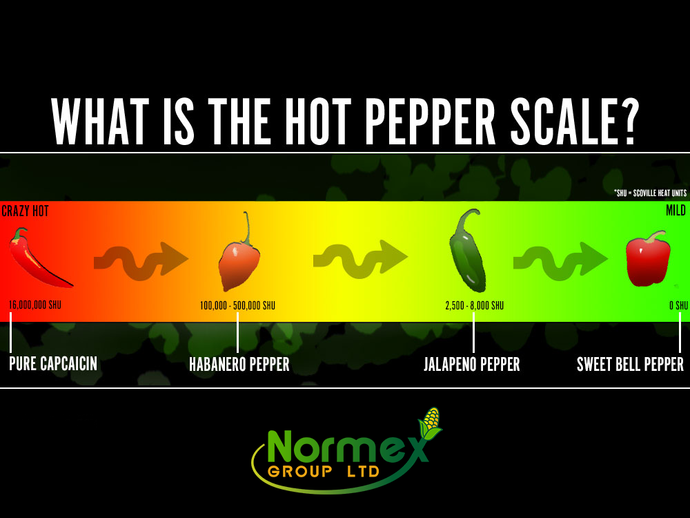 Scoville Scale - What is the hot pepper scale?