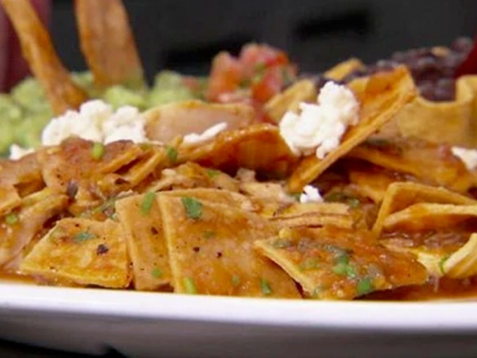 Traditional Red Chilaquiles Recipe