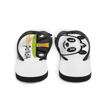 Load image into Gallery viewer, Drunk Panda Flip-Flops
