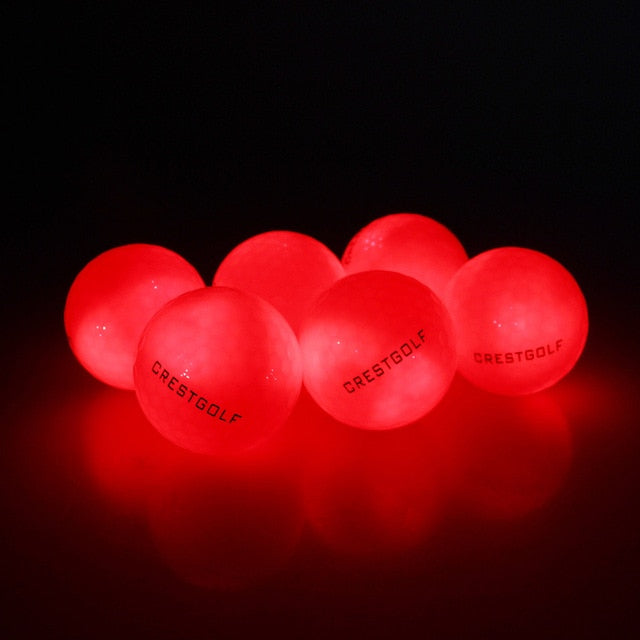 Led Golf Balls 4 pcs/pack for Night Training