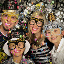 Load image into Gallery viewer, 12pcs 2021 new year eve party supplies