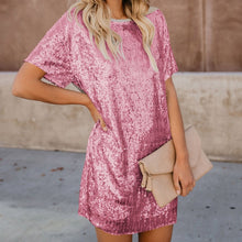 Load image into Gallery viewer, Southern Women Sequin Mini Dress
