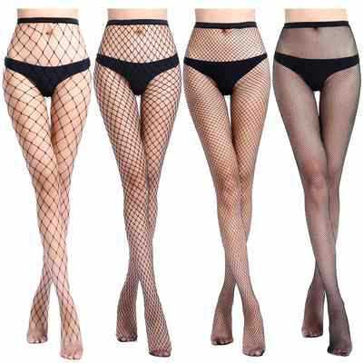 High waist fishnet stocking for a fun night out