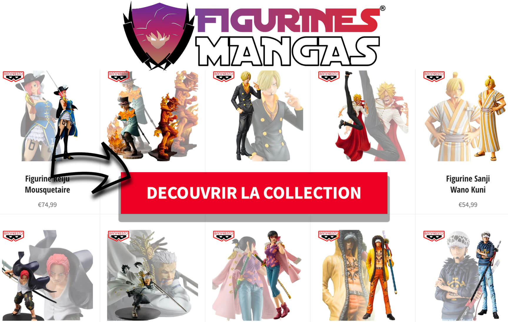 Collection Figurines One Piece