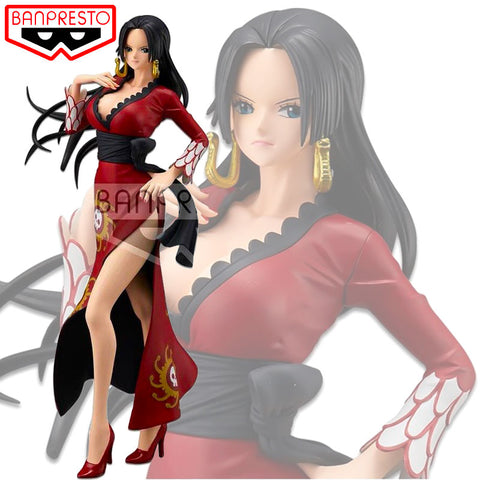 Figurine Boa Hancock One Piece Stampede (rouge) | Figurines Mangas