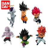 Lot de Figurines Sangoku, Gogeta, Vegeta, Jiren, Freezer et Broly | Figurines Mangas