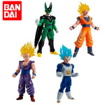 Lot de Figurines ; Sangoku, Gohan, Vegeta et Cell | Figurines Mangas