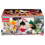 Lot de Figurines </br> Luffy, Zoro, Nami, Ace, Shanks et Barbe Blanche