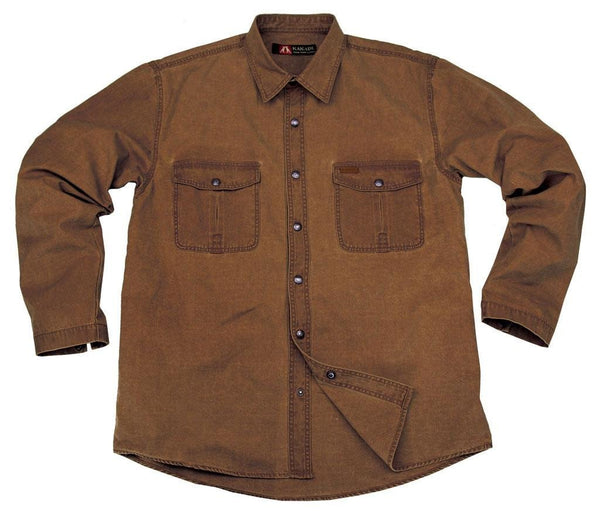 Outdoor | Worker | Shirt- Oberhemd Graham aus robustem Canvas in XS und S - OUT OF AUSTRALIA | Kakadu Traders Australia