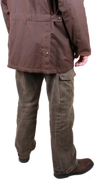 Canvas Pants in Espresso - OUT OF AUSTRALIA | Kakadu Traders Australia