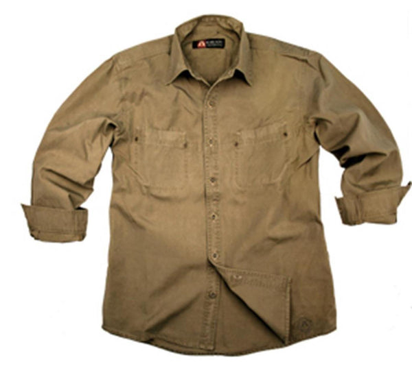 Outdoor | Worker Shirt York- robustes Herren Oberhemd mit Metallknöpfen - OUT OF AUSTRALIA | Kakadu Traders Australia