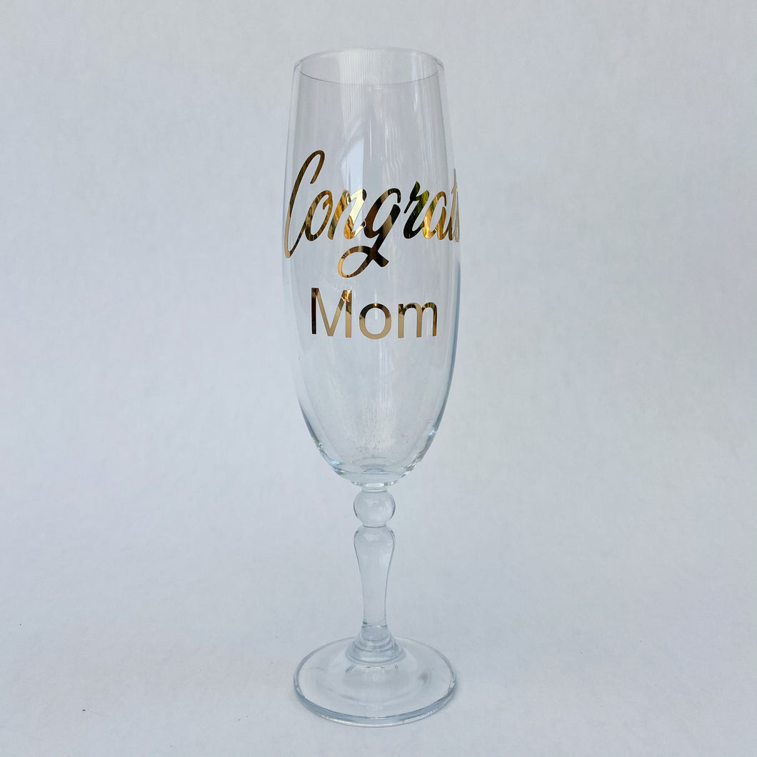 Champagne Glass (Personalised)