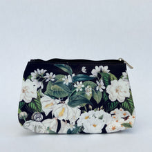 Load image into Gallery viewer, Floral Cosmetic Bag