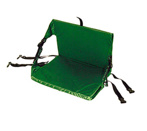 Canoe Chair Green provides excellent back support on your canoe adventures.