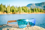 Iced Up Blue Limited Edition Pow Series Sunglasses
