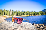 Pink Sunrise Alpine Series Sunglasses