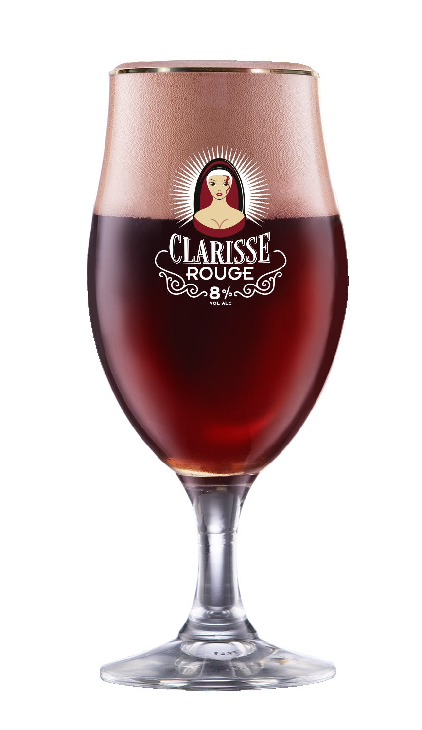 Clarisse Rouge Glass 33cl