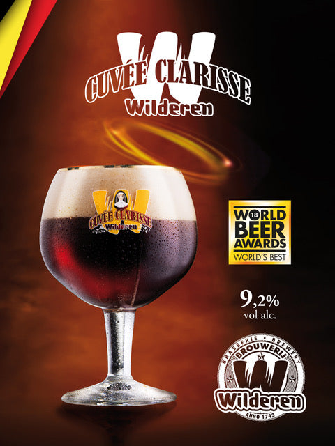 Cuvée Clarisse Tins Advertising sign