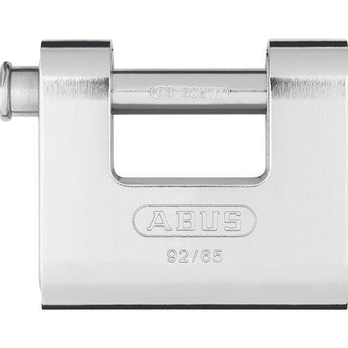 ABUS 92/65 Monoblock Solid Brass Padlock-AbusLocks.com