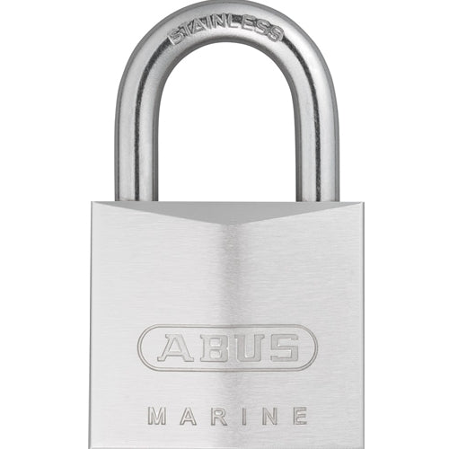 ABUS 75IB/50 Chrome-Plated Solid Brass Padlock