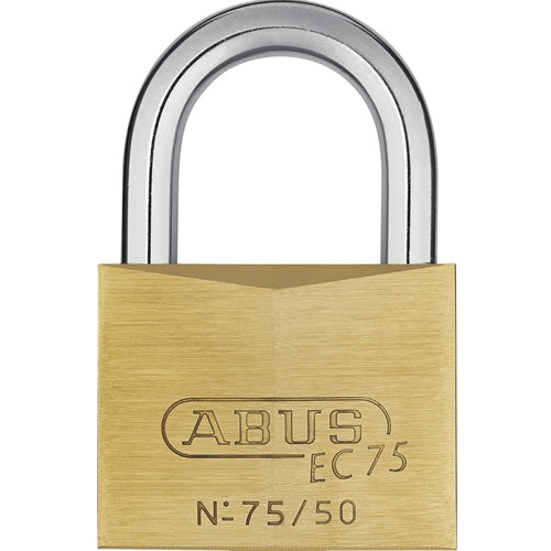 ABUS 75/50 Solid Brass Padlock-AbusLocks.com
