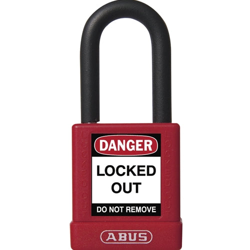 ABUS 74/40 Nylon Protected Safety Lockout Padlock