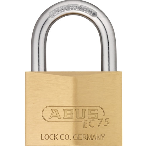 ABUS 75/60 Solid Brass Padlock-AbusLocks.com