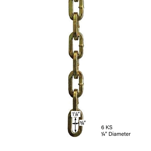 ABUS 6KS High Security Chain-AbusLocks.com