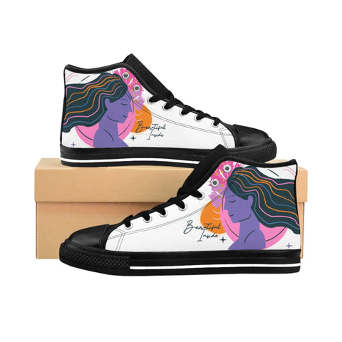 Women's High-top Sneakers Beautiful Inside