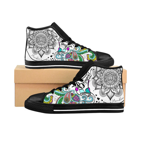Women's High-top Sneakers Inspire Great