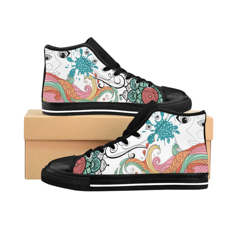 Women's High-top Sneakers Deep Inside