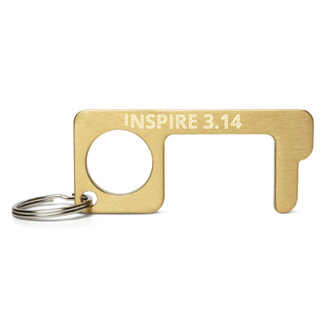 Engraved Brass Touch Tool - inspire314