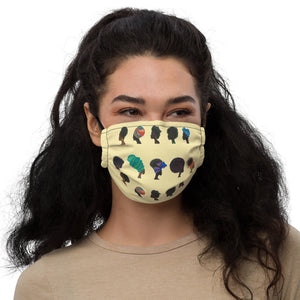 "Open image in slideshow, Reusable Face Mask ""African Ladies"""
