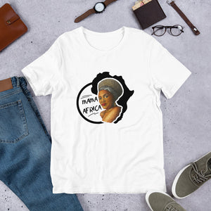 "Open image in slideshow, ""Mama Africa"" Short-Sleeve Unisex T-Shirt"