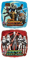STAR WARS 17IN BIRTHDAY FOIL BALLOON