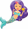 JUMBO MERMAID 38IN FOIL BALLOON