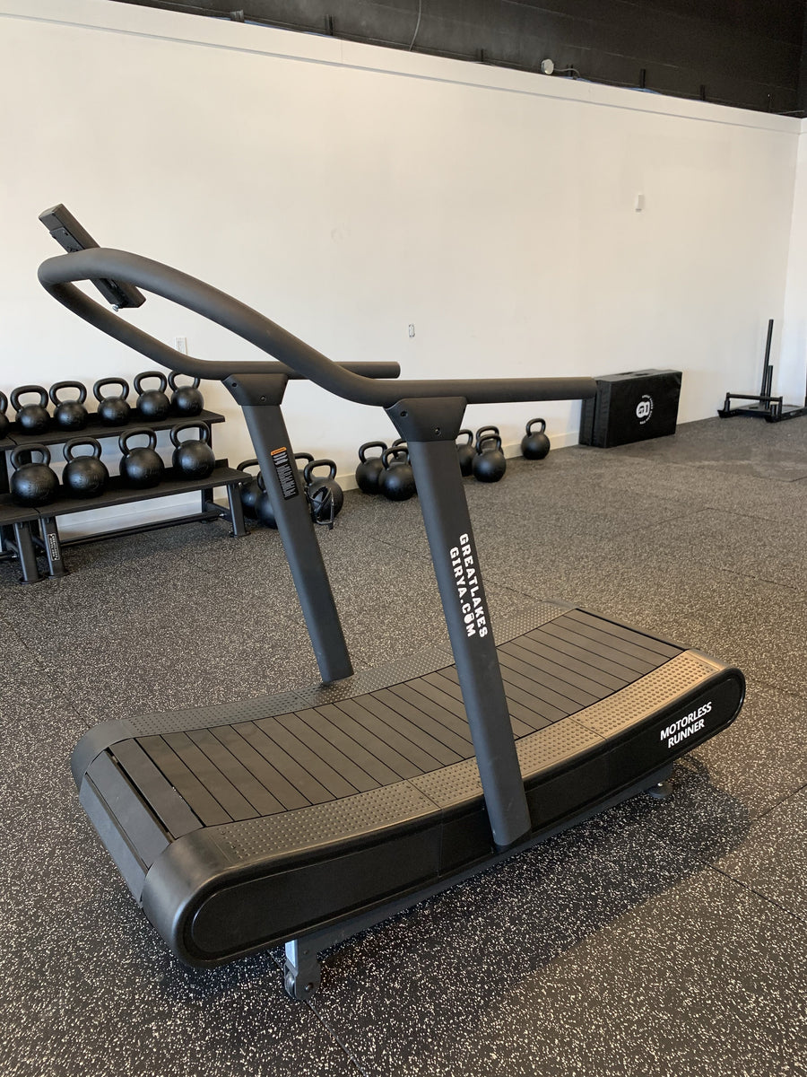 GLG Curved Motorless Treadmill