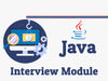 Java Interview Module MasterClass