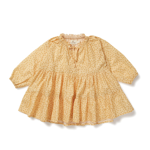 Konges Sløjd / Pilou dress / Buttercup - yellow
