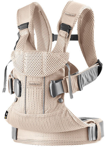Babybjörn / Baby carrier one / Airy mesh pearly pink