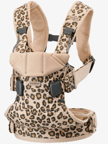 Babybjörn / Baby carrier one / Comfy cotton Leopard