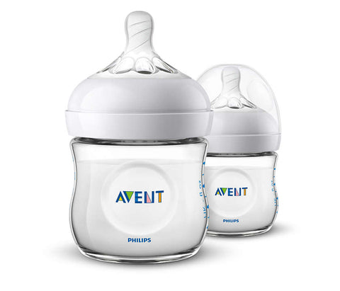 Avent / Natural fles duo pak / 125 ml