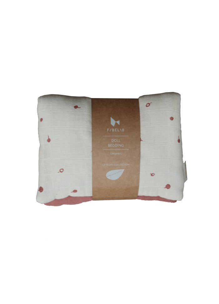 Fabelab / Doll bedding / Wild berry